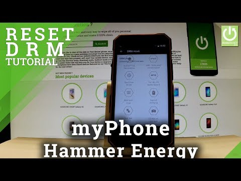 Reset DRM Data in myPhone Hammer Energy - Restore DRM License