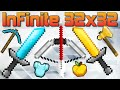 ★ [Review] InFinite 32x32 PvP Pack - Minecraft - 1.7 1.8 1.9 - Huahwi