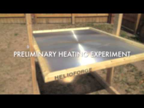 Helioforge: DIY Self-Replicable Solar Forge