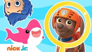 Find The Sharks Game 🦈 W Paw Patrol Blaze Dora Andamp More  Nick Jr.