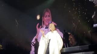 Celine Dion - The Prayer (solo, and speech) Cleveland October 18th, 2019