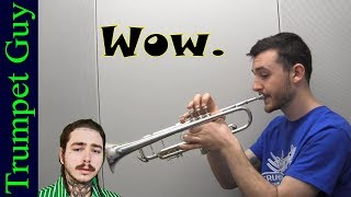 Post Malone - Wow. (Trumpet Cover)