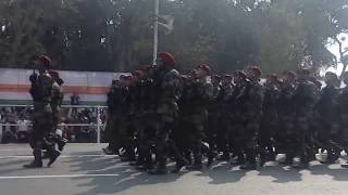 Republic day pared 2019 in red road
