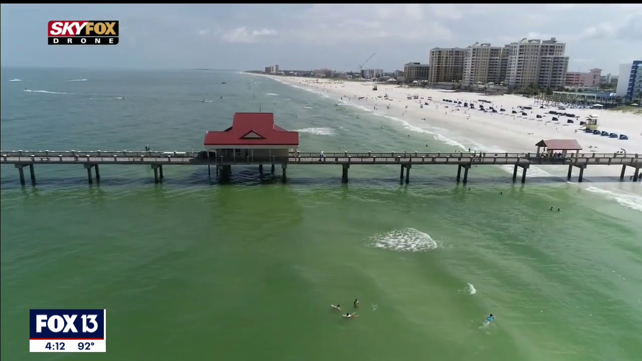 Drone Zone: Clearwater Beach