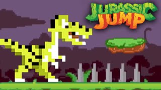 The Impossible 'Dino' Game! - Jurassic Jump
