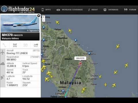 malaysia flight 370 מלזיה 370 - מההמראה עד ההיעלמות