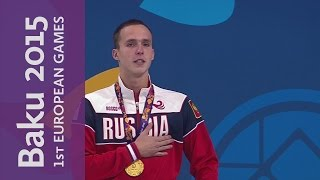 Chupkov wins Gold for Russia in the Men
