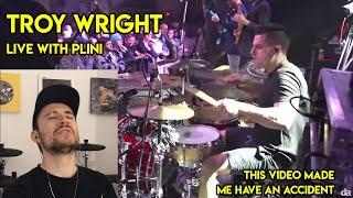 Drum Teacher reacts to Troy Wright (Plini - Selenium Forest Live)