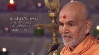 Diwali, Guruhari Ashirwad 19 Oct 2017 (Morning), London, UK
