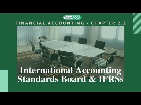 [Tự học ACCA] - FA / F3 - CHAPTER 2.2: The International Accounting Standards Board (IASB) and IFRSs