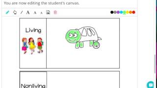 Living Nonliving Draw Directions