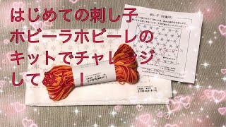 Sashiko is traditional Japanese embroidery. 二、三年前に買ったホビ...