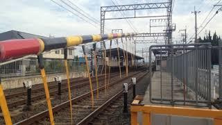 近鉄8800系 到着 発車