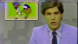 From 1983:  WTCN (KARE) Report on Vikings Training Camp in Mankato