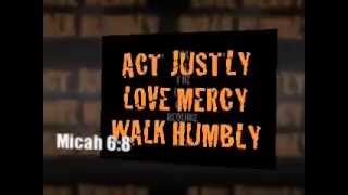 Micah 6 8   Act Justly, Love Mercy, And Walk Humbly