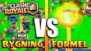 BYGNING MOT FORMEL :: Clash Royale :: NORSK CLASH ROYALE CHALLENGE!