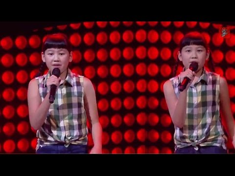 The Voice Kids Thailand - ใบเฟิร์น&ใบปาล์ม  - Two Voices One Song - 15 Feb 2015
