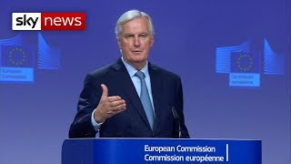 Barnier on the Brexit deal
