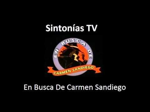 Sintonia de television: En Busca De Carmen Sandiego