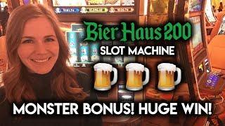 Bier Haus 200 MONSTER Bonus! BIG WIN!!!