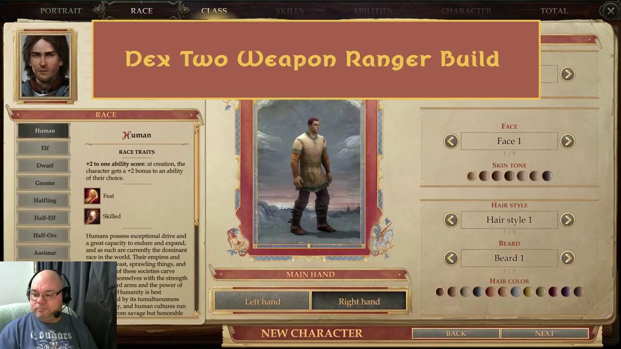 Pathfinder: Kingmaker - Dex Two Weapon Ranger Build
