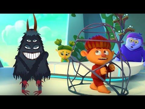 Страх страхов – Монсики – мультфильм для детей – чувства и эмоции