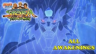 Naruto Shippuden Ultimate Ninja Storm Revolution All Awakenings
