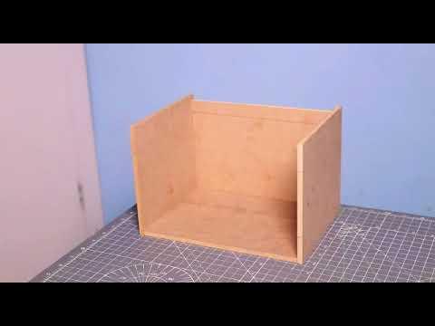 How to wood locker make