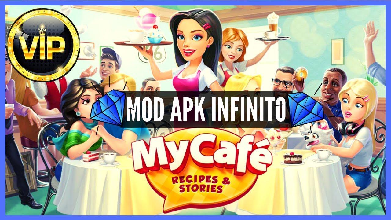 My Cafe Recipes Stories V9 3 Mod Apk Vip 7 Moedas E