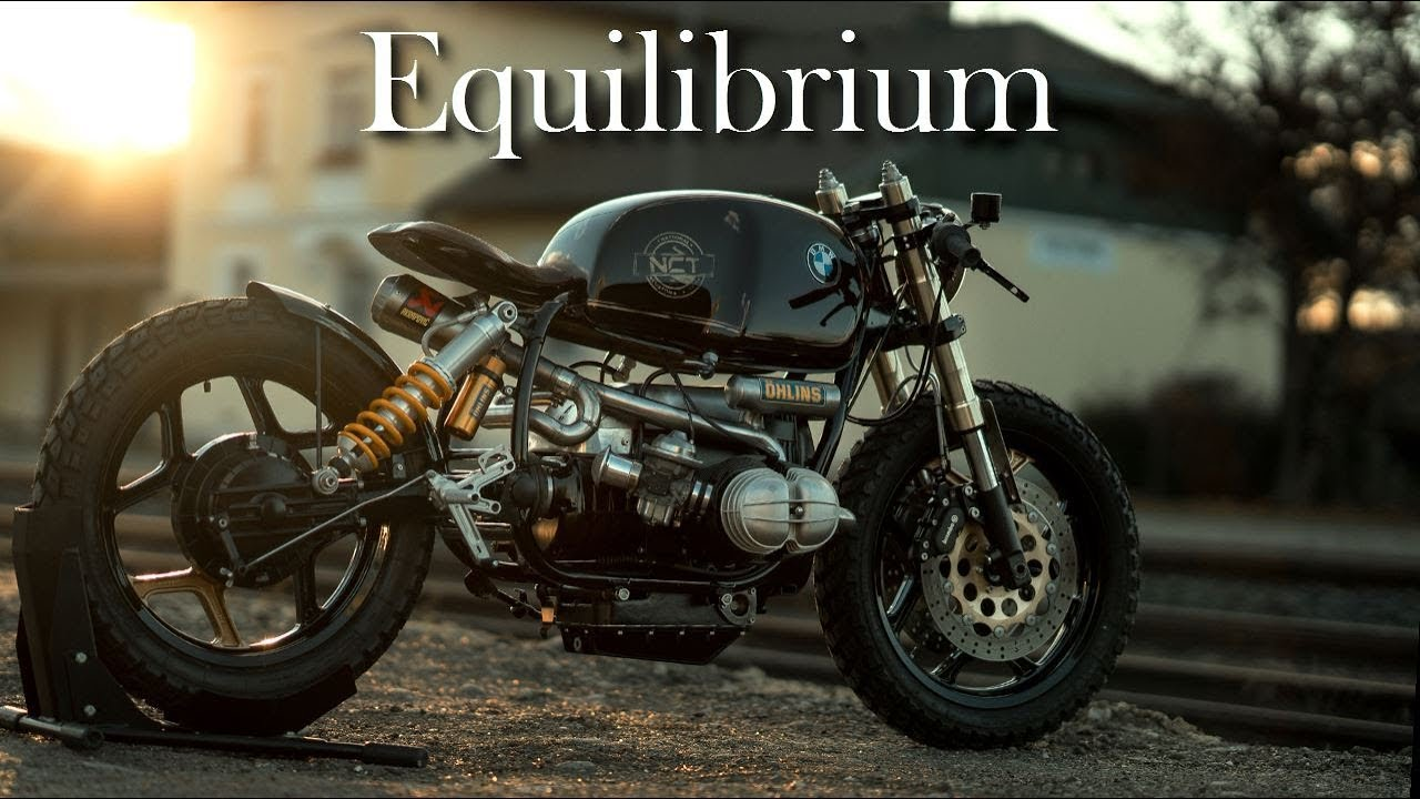 Cafe Racer Bmw R100 By National Custom Tech Youtube