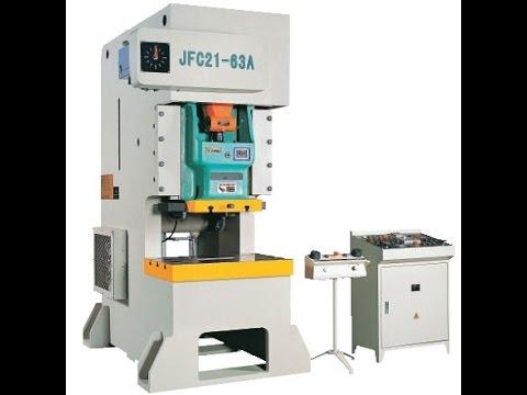 JH21 80 ton power PRESS machine made In China , 80t pneumatic punching machine
