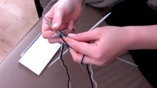 strømpestrikning del 1