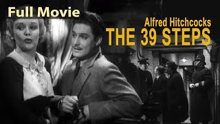Alfred Hitchcock's The 39 Steps (1942) Full English Movies | Classic Hollywood Movies