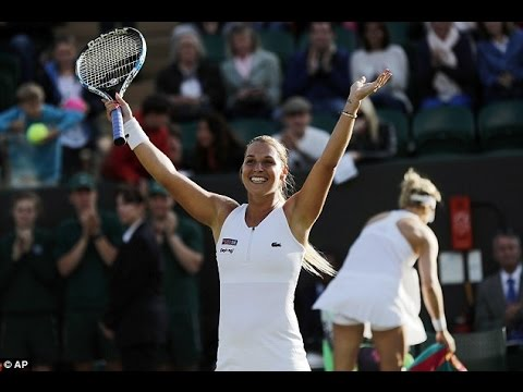 Dominika Cibulkova VS Eugenie Bouchard Highlight 2016 R3