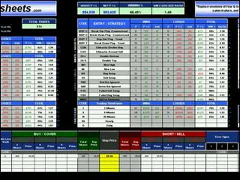 Stock and forex trading journal