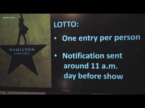 Digital Lottery Opening For Hamilton Tickets