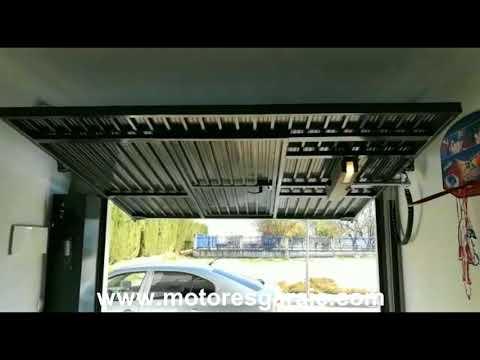 32389512e47 Motor para puerta basculante 1 hoja - YouTube