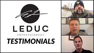 Testimonials for Leduc Entertainment