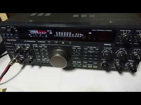 Strong signal by China Radio International - 5960KHz - English language
