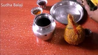 Varalakshmi Pooja in Telugu    kalasam ela pettali   Sudha Balaji