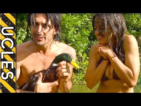 Duck Hunting (UNBELIEVABLE) Barehanded with Andrew Ucles & Laura Zerra