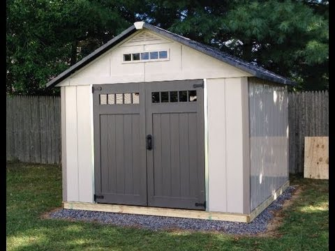 Homestyles 10 X 10 Shed Installation Youtube
