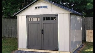 Homestyles 10' X 10' Shed Installation
