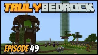 Fixing My Raid Farm In 1.13 & XP Farm! - Truly Bedrock (Minecraft Survival Let's Play) Episode 49