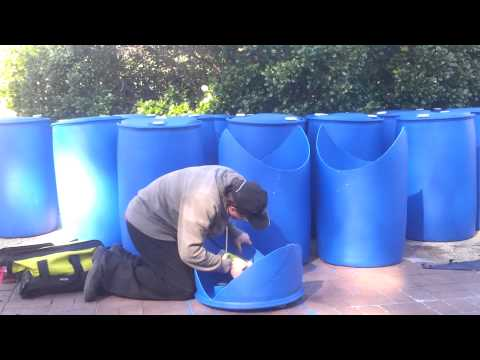 Backyard Aquaponics Nats 4 Barrel System Youtube