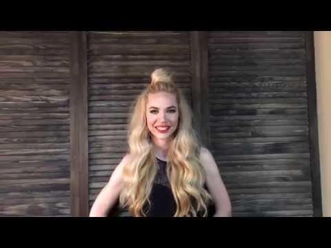 Мальвинка Прическа в стиле Мальвины  Malvina hair style BRUSH 12