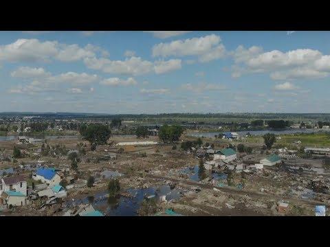 Владимир Путин встретился с пострадавшими от наводнения в Иркутской области и выслушал их проблемы.