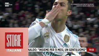 "Raffaella Fico Su Ronaldo: ""insieme Per 11 Mesi, Un Vero Gentiluomo""   Storie Italiane 16/05/2019"