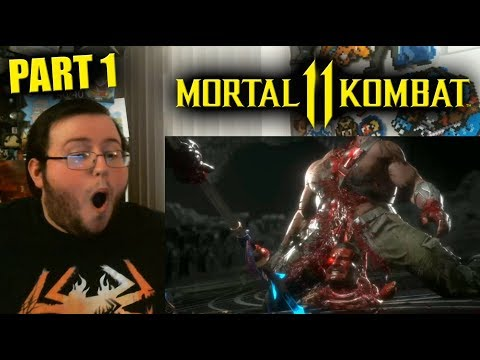 "Gors ""Mortal Kombat 11"" ALL Fatalities REACTION (Part 1)"