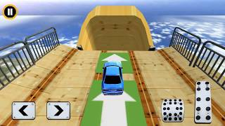 Vertical Ramp Impossible 3D - Gameplay Android game - car racing games